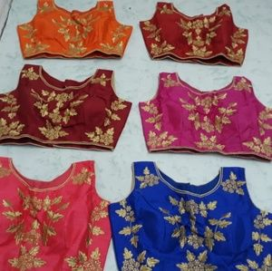 b4445eb7f56ab Other - New design Saree choli blouse ready made